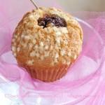 TEA TIME: Muffin alle ciliegie e zucchero muscovado