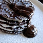 Millefoglie di Ferratelle al cardamomo Black and White