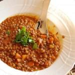 La Lenticchia dei papi incontra le spezie in una  zuppa