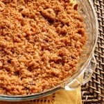 Crumble di inizio Autunno: uva e nocciole and a gift for you!