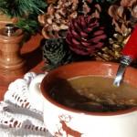 Minestra di Lenticchie e Castagne al Cumino e Pepe nero del sarawak