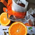 Double Chocolate Muffins con Arancia e Cardamomo