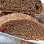 Pane al Farro e noci con Lievito madre