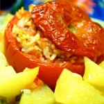 Estate Romana: Pomodori ripieni di riso