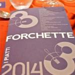 """La cena di Gala per le """"Tre Forchette 2014"""" del Gambero Rosso"""