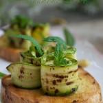 Bruschetta con zucchine grigliate e Senape Calvè per  iniziare l'avventura come Guest Blogger di #VistocheBuono