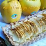 Apple Tarte con crema allo zenzero