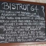 BISTROT64: alta cucina alla portata di tutti