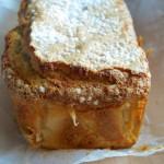 Cake con ricotta, limone e fava tonka
