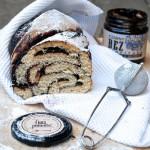 Pan Brioche speziato con confettura di sambuco e miele di melata di abete per una Colazione Italo-Polacca