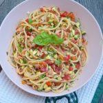 Spaghetti alla crudaiola