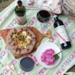 Galette rustica al vino, risi e bisi con menta e stracchinato – Contest DeGustiViniEuganei
